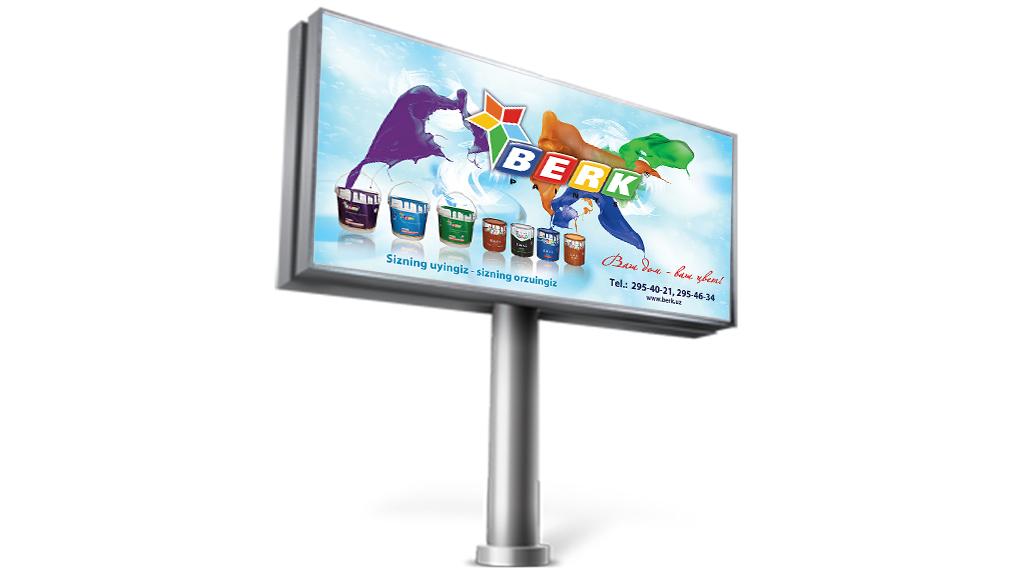 Berk billboard