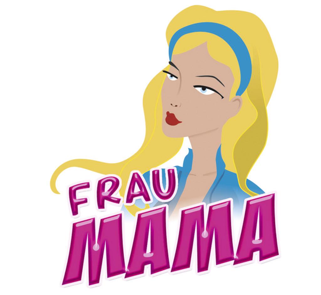 Frau mama